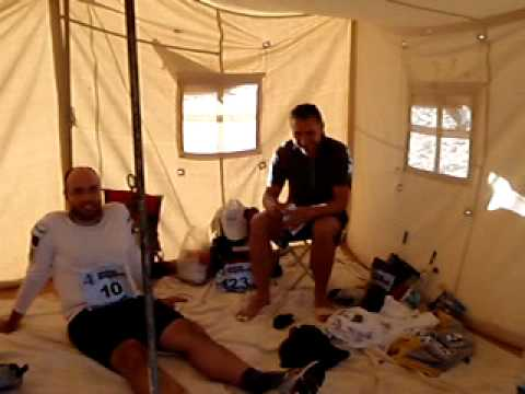Exciting tent life in the Sahara!
