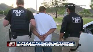 U.S. Immigration and Customs Enforcement, Florida Sheriffs announce public safety efforts