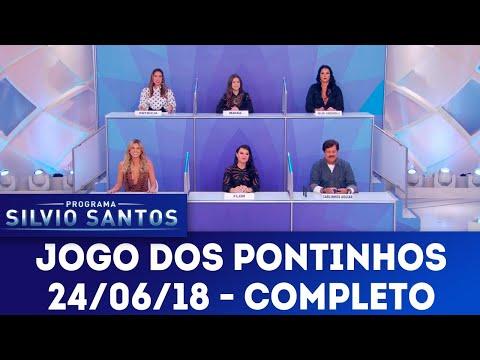 Jogo dos Pontinhos - Completo | Programa Silvio Santos (24/06/18)