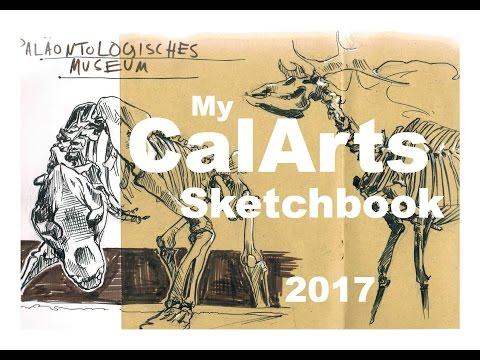 Accepted CalArts Sketchbook// My ART PORTFOLIO