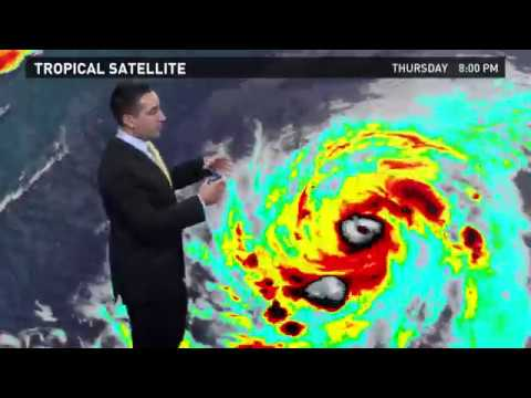Hurricane Irma Outlook for Friday, September 1, 2017
