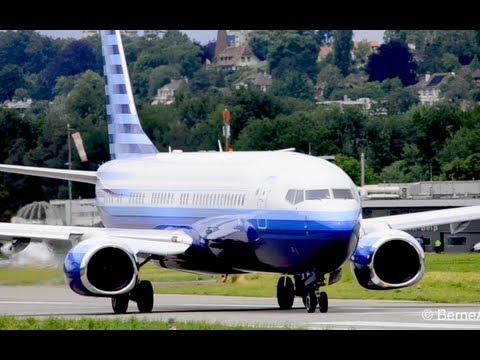 Beautiful BBJ2 - Boeing 737-8EQ in Berne HD