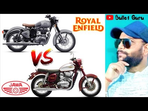 JAWA 300 Vs Royal Enfield Bullet 350 || Real Competition To RE