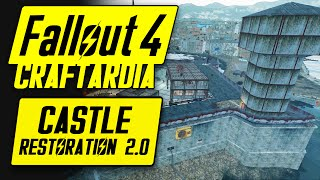 Fallout 4 Castle Restoration 2.0 - Land of Buttsticks - Fallout 4 Settlement Building