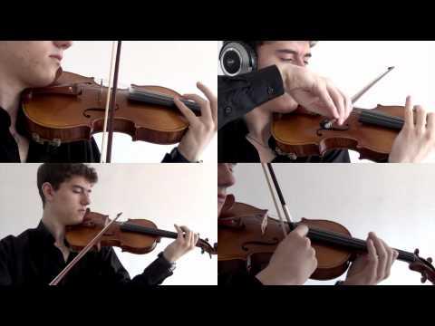 "Violin Quartet No.3 by Stepan Grytsay  ""OSTINATO"""