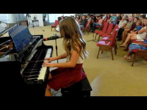 Kaia C - Love Story by Taylor Swift - Voice/Piano