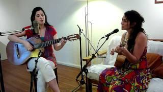 Georgina Hassan y Laura Ledesma - Ensayo del homenaje a Lhasa - El pájaro.mp4