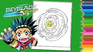 Beyblade Burst Coloring pages book - Coloriage Beyblade Burst