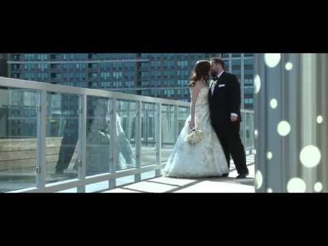 John + Stacy Chicago Navy Pier wedding film:video