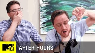 Office Erotic Asphyxiation w/ James McAvoy | After Hours | MTV