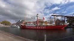 Emden Dokumentation Ostfriesland Reisebericht Stadt, Deich, Kultur, Hafen und Meer im Sommer Doku