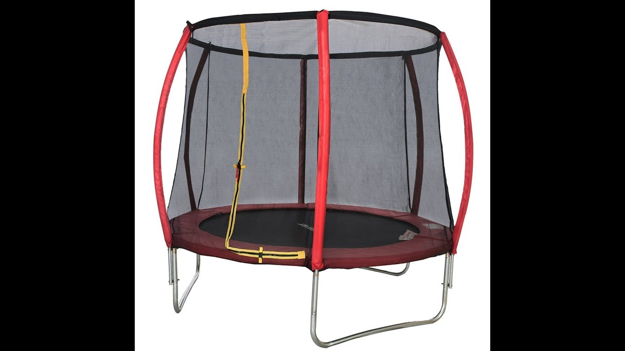 Review: Merax Round Trampoline And Safety Enclosure Set