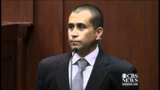 George Zimmerman's apology to Trayvon Martin's parents