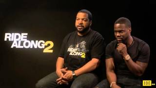 JOE meets Ice Cube and Kevin Hart, Ride Along 2