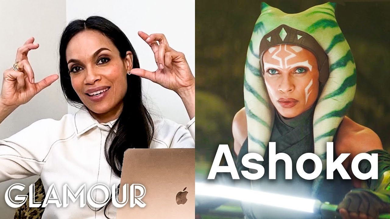 Rosario Dawson Breaks Down Her Iconic Costumes, from 'Rent' to 'Mandalorian' | Glamour