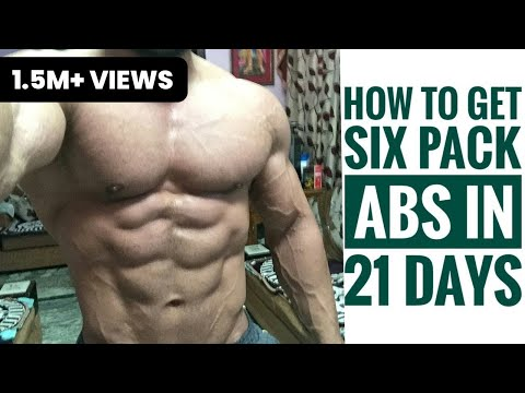 21 DAYS ABS WORKOUT: HOW TO GET A SIX PACK | AMIT PANGHAL | PANGHAL FITNESS
