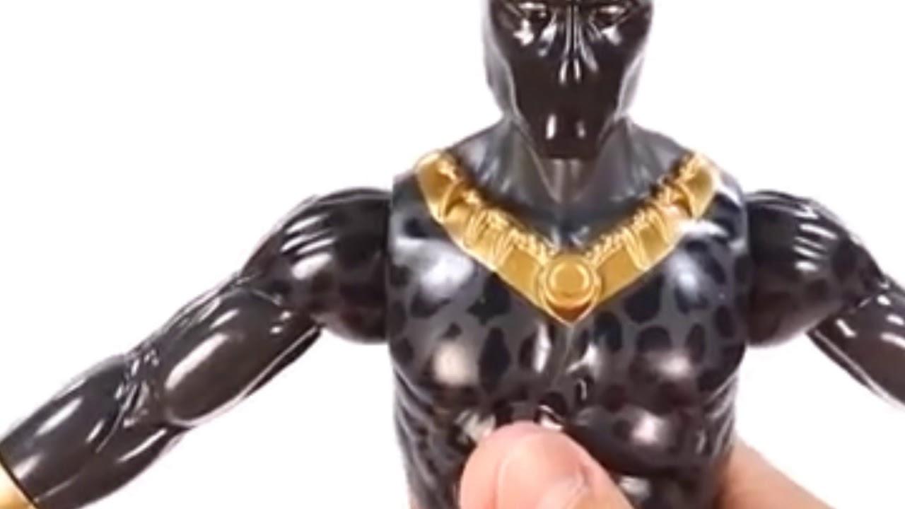 "Marvel BLACK Panther Titan Hero Series 12/"" Erik Killmonger Toys /& Games"