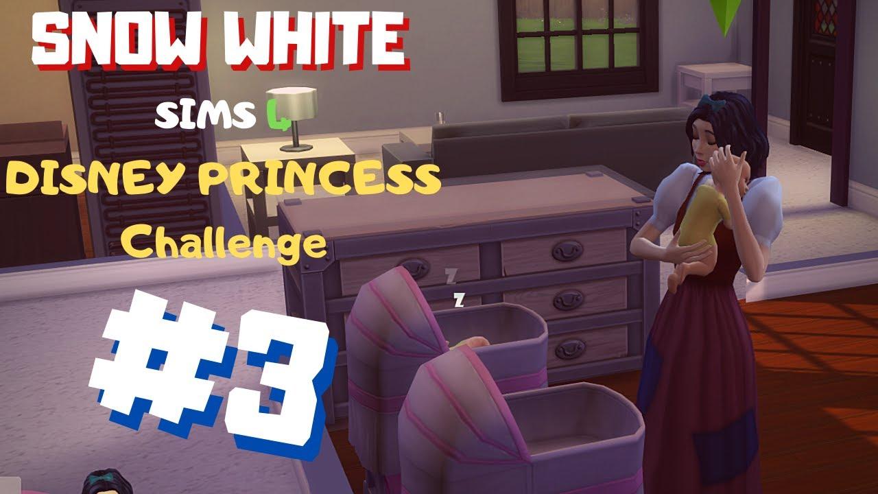TWINS! // Sims 4 Disney Princess Challenge EP3 - YouTube