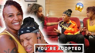 Told My Daughter She is Adopted *PRANK* ( She gets Emotional !!)