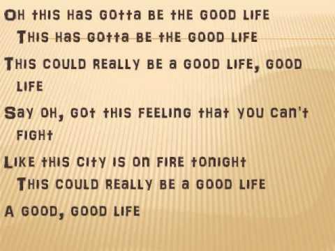 One Republic Good Life Lyrics Instrumental - YouTube