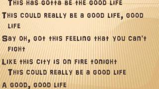 One Republic Good Life Lyrics Instrumental