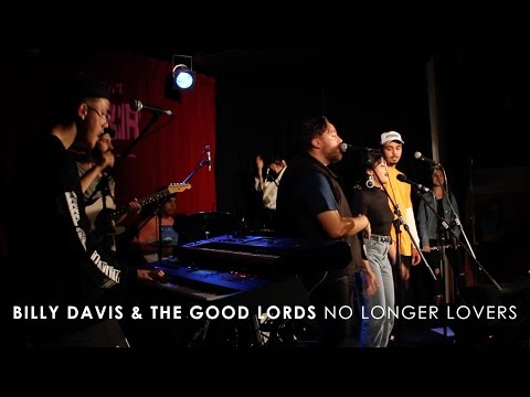Billy Davis & The Good Lords - No Longer Lovers (Live at 3RRR)