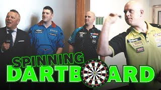 Can MVG beat The Spinning Dartboard?!