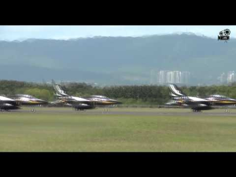 ROKAF T-50 Formation Takeoff @ Mactan Cebu International Airport (SDE)