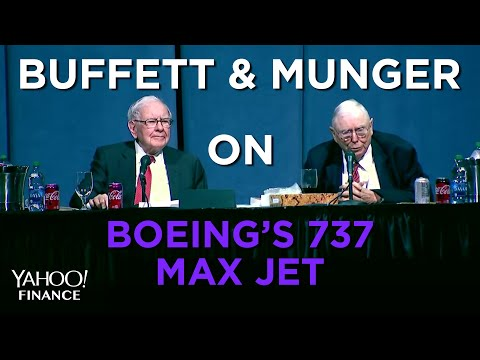 Buffett on Boeing's 737 Max Jet and flight safety