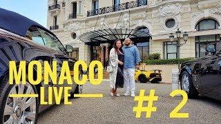 Монако live влог № 2 - Шоу рум Ульяны Сергеенко. Лифты. Вечерний Монако.