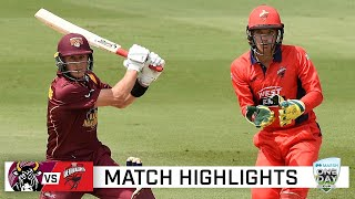 Bulls trample Redbacks in Marsh Cup blowout | Marsh One-Day Cup 2020-21
