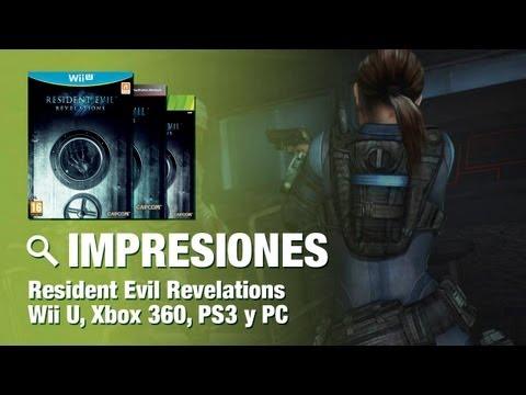 Impresiones Resident Evil Revelations | Wii U | PS3 | Xbox360 | PC