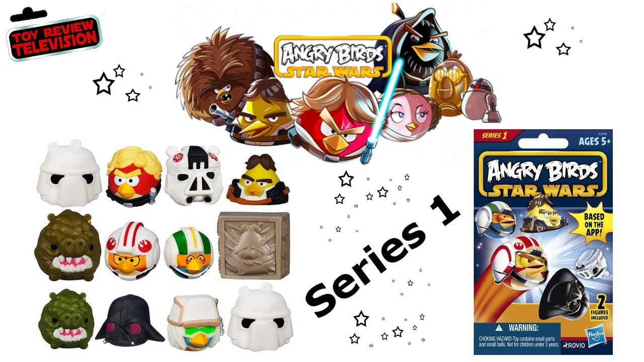 Hasbro Angry Birds Star Wars Figure Blind Bags Review