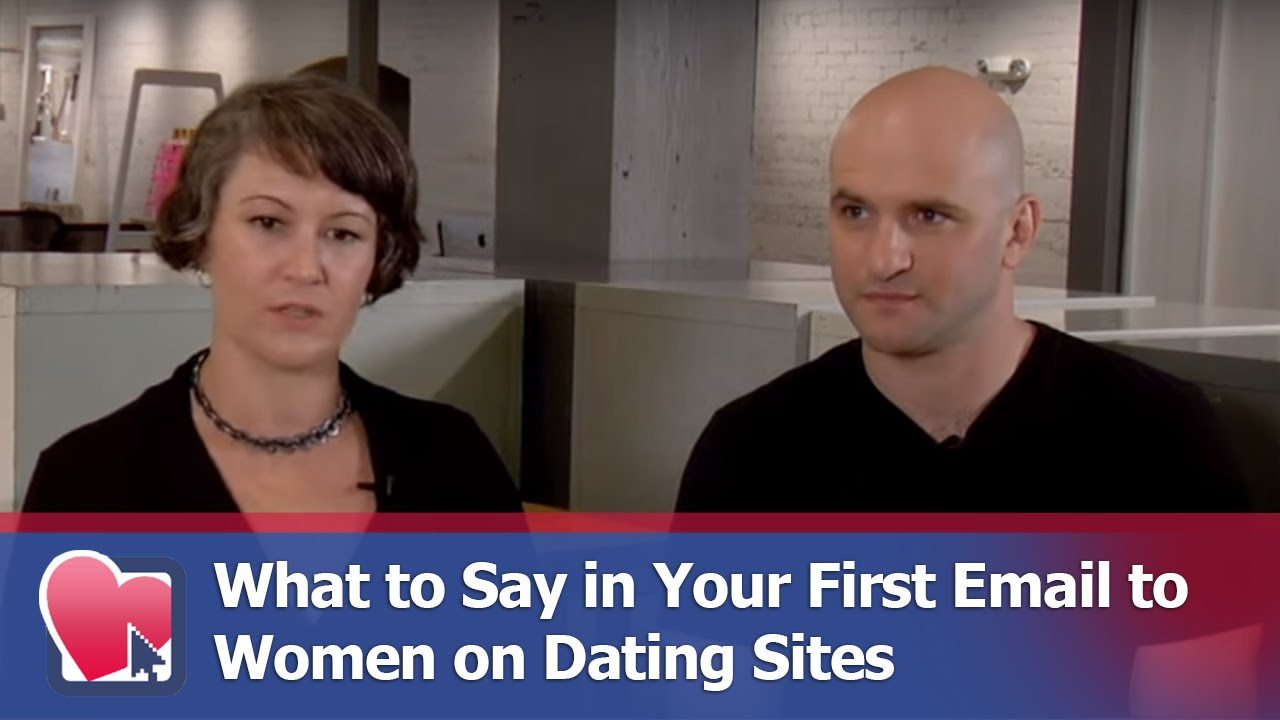 First emails to online dating