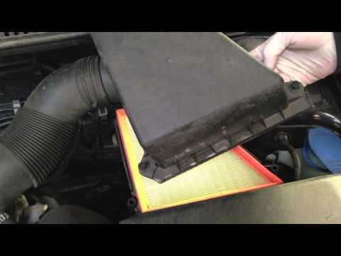 How To Remove A Seat Ibiza Engine Cover To Change Air