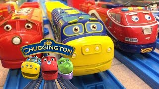 【vláček】Chuggington Motorizovaný vlak x 12 (00479 z cz)