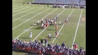 HOPE COLLEGE FOOTBALL HIGHLIGHTS VS. OLIVET COLLEGE 2008