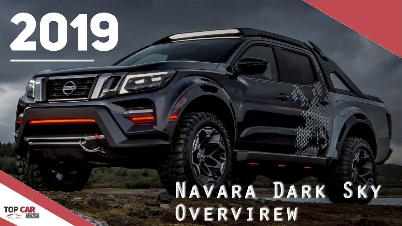 2019 Nissan Navara Dark Sky Concept Overview Interior