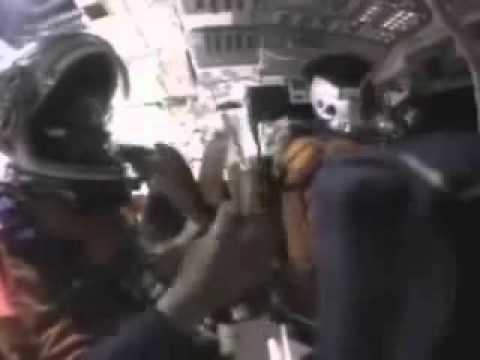 OVNIS ADVIERTEN O ATACAN  MISION STS-107 DEL COLUMBIA QUE SUCUMBE SEGUNDOS DESPUES
