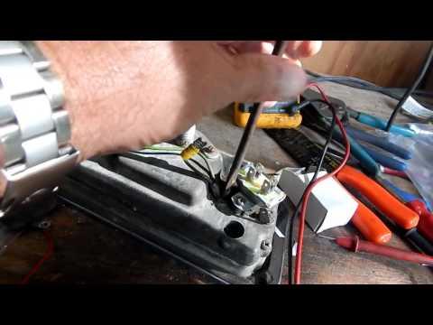 Replace Instrument Voltage Regulator (Stabilizer) Ford 2000
