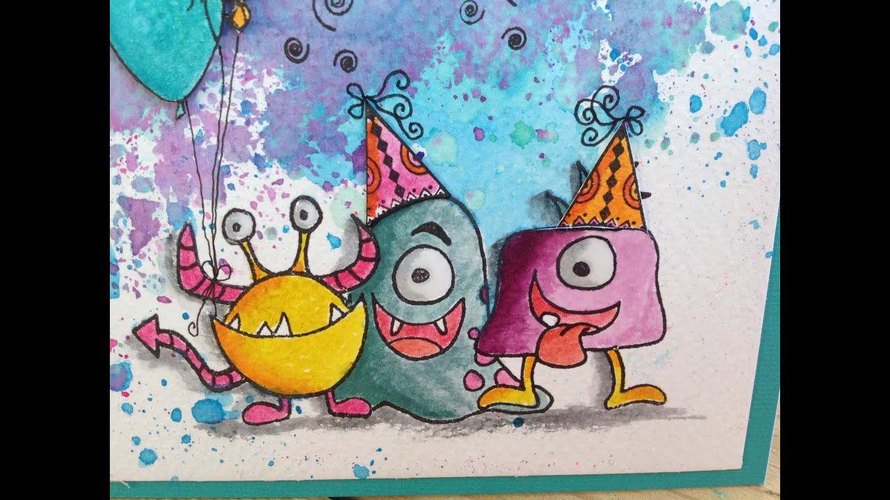 Carte Bon anniversaire - YouTube