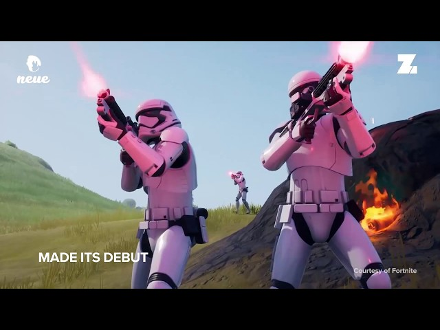 Fortnite Invaded By Star Wars