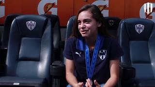 Nuestra Rayada Aylin Avilez nos comparte su experiencia en el Mundial Sub17 Femenil.