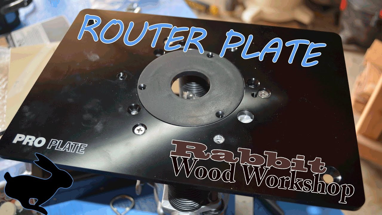 Router plate install w flush trim bit youtube greentooth