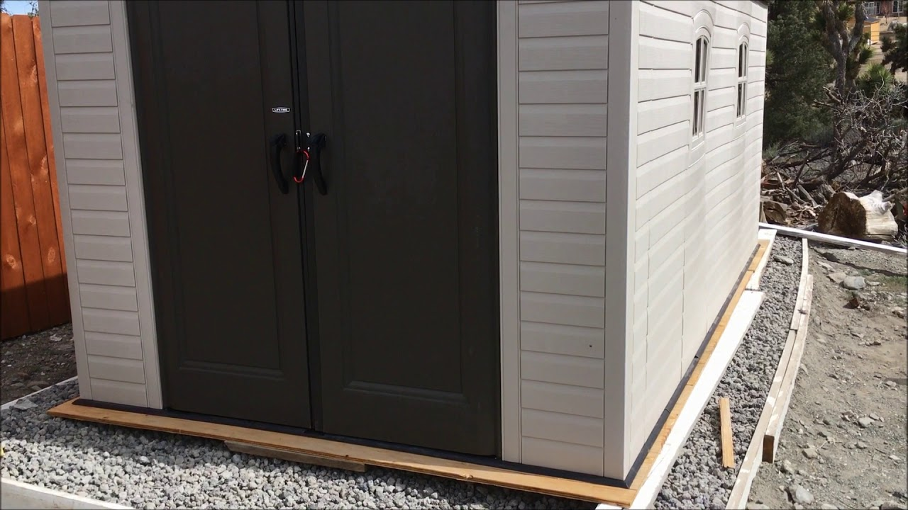Lifetime Rubber Shed From Costco Review