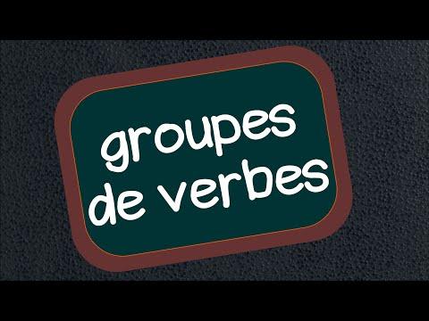 Les groupes de verbes