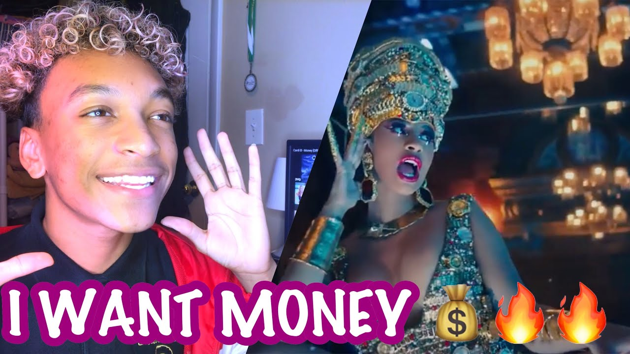 Cardi B - Money   Official Music Video   REACTION! - YouTube