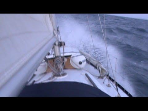 Sailing Southampton to Skye - drama on high seas