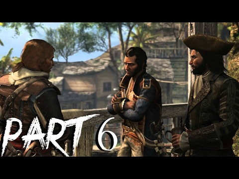 Assassin's Creed 4 Black Flag Gameplay Walkthrough Part 6 - Hunting Wildlife and Now Hiring
