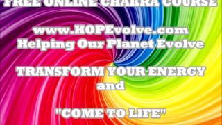 HOPEvolve Chakra Affirmations - short video